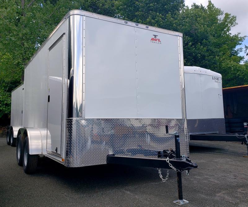 2020 Anvil 7x12 7K Enclosed Cargo Trailer