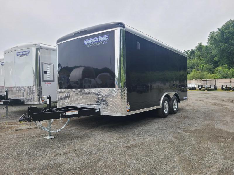 2022 Sure-Trac 8.5x16 10K Landscape Pro Enclosed Cargo Trailer