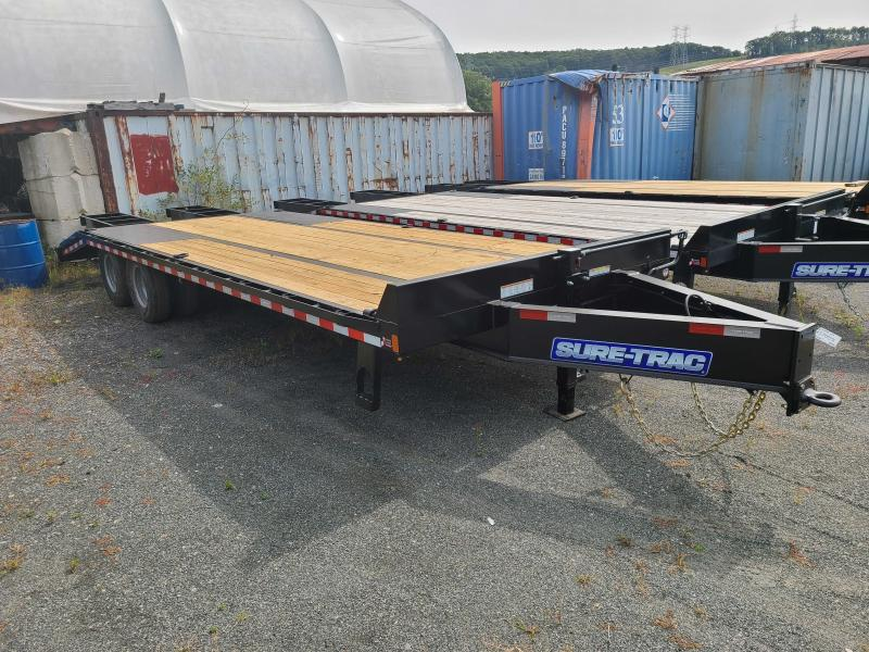 2021 Sure-Trac 8.5x20+5 22.5k Beavertail Deckover Equipment Trailer