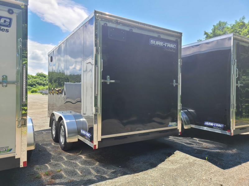 2021 Sure-Trac 7x14 Enclosed PRO SERIES WEDGE UTV Cargo Trailer