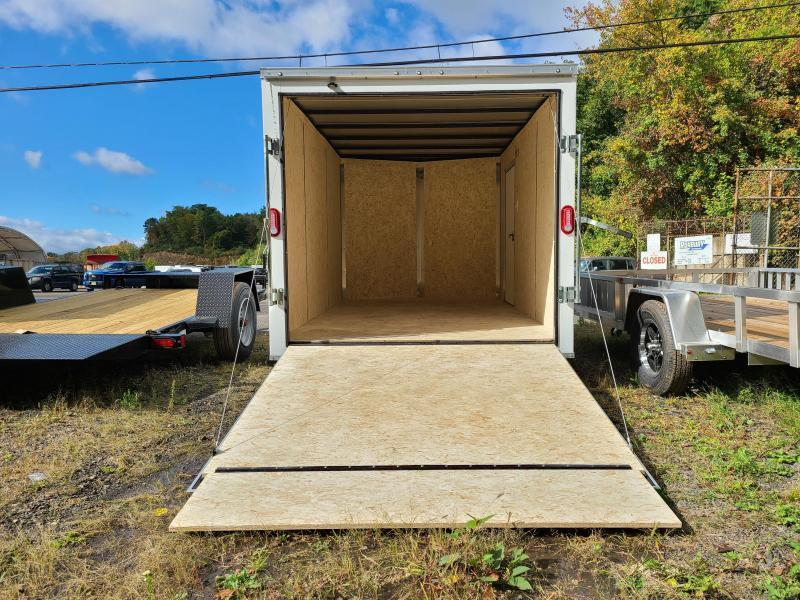 2021 Sure-Trac 7x12 ST Series Wedge Front Enclosed Cargo Trailer w/BREAK AXLE