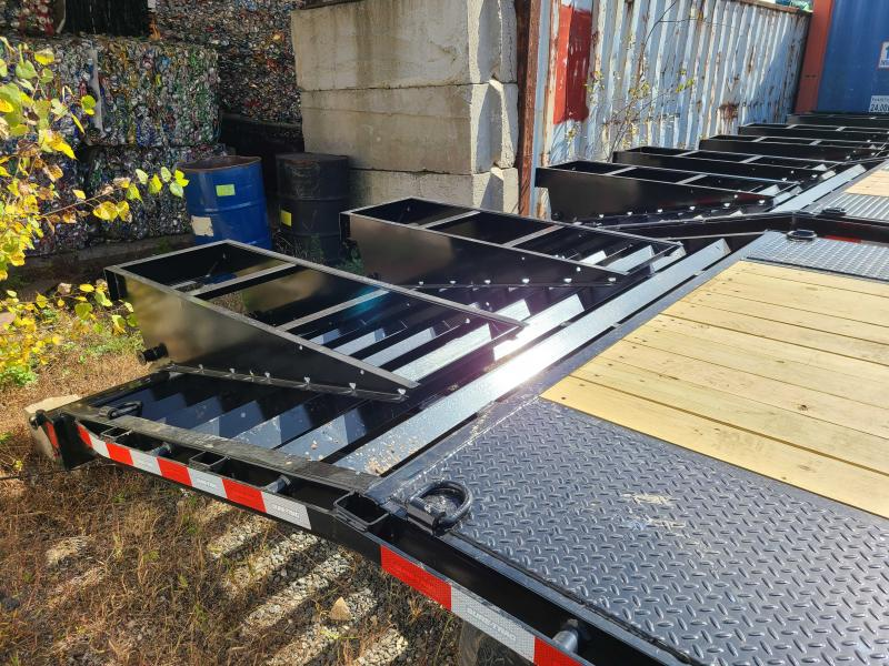 2021 Sure-Trac 8.5 x 20 15K HD Beavertail Deckover Equipment Trailer