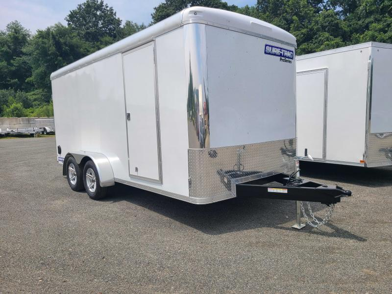 2021 Sure-Trac 7x16 Pro Series Round Top Enclosed Cargo Trailer
