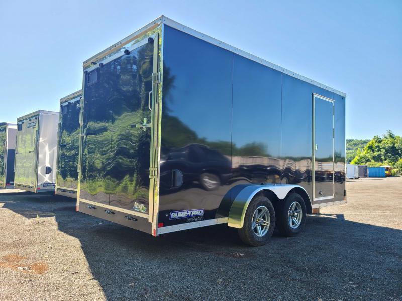 2021 Sure-Trac 7x16 Enclosed PRO SERIES WEDGE UTV Cargo Trailer