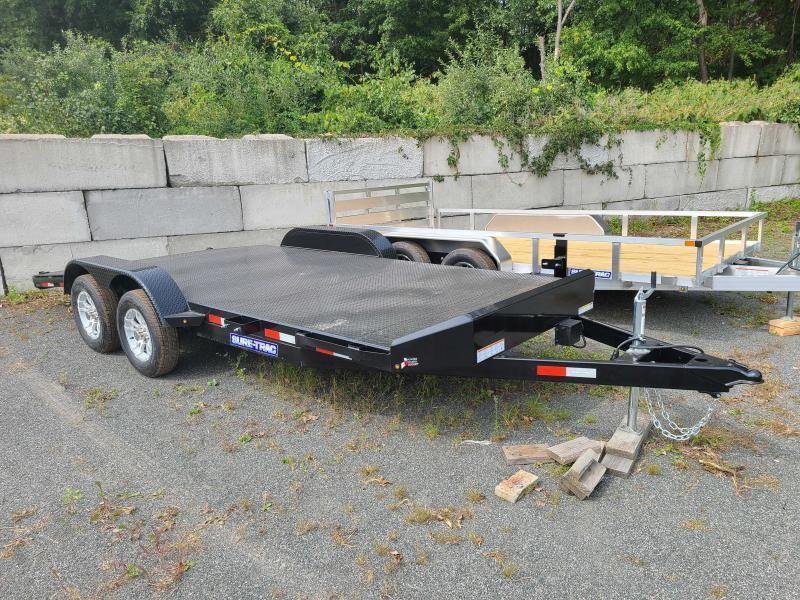 2021 Sure-Trac 7x18 7K Steel Deck Car Trailer