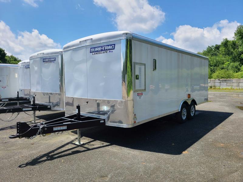 2021 Sure-Trac 8.5x20 Landscape Pro Enclosed Cargo Trailer [BRICKMAN - BRIGHTVIEW SPEC]