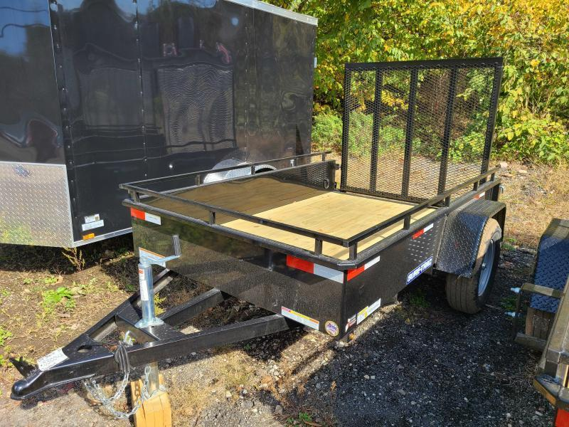 2021 Sure-Trac 5x8 Steel High Side Utility Trailer