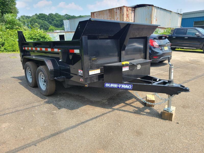 2021 Sure-Trac 6x10 7K Low Profile Dump Trailer [RAMPS + COMBO GATE]