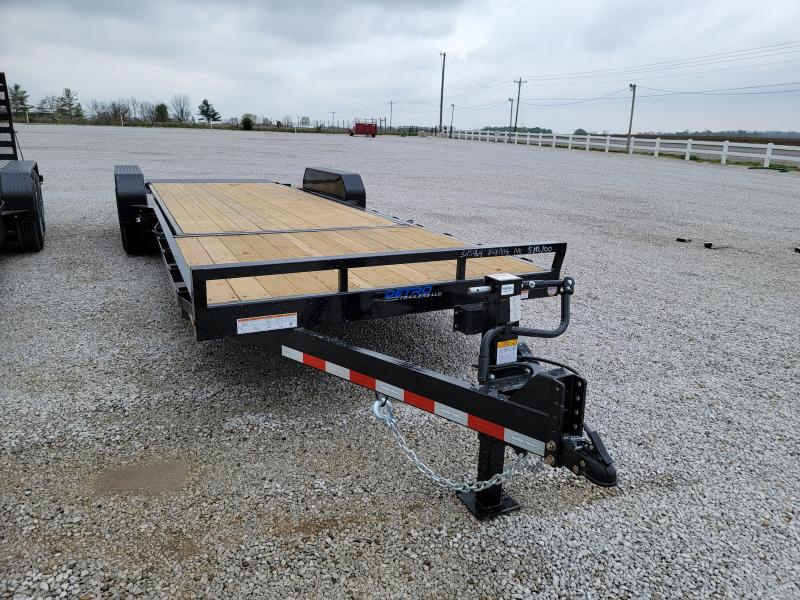 2021 Sure-Trac 7x24 (18+6) Tilt Bed 14K Equipment Trailer