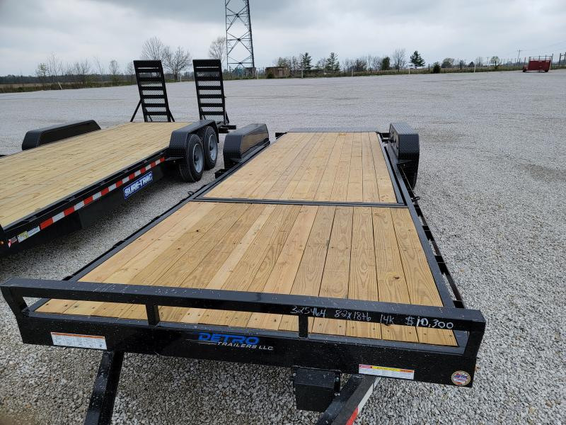 2021 Sure-Trac 7x24 (18+6) Tilt Bed 14K Equipment Trailer