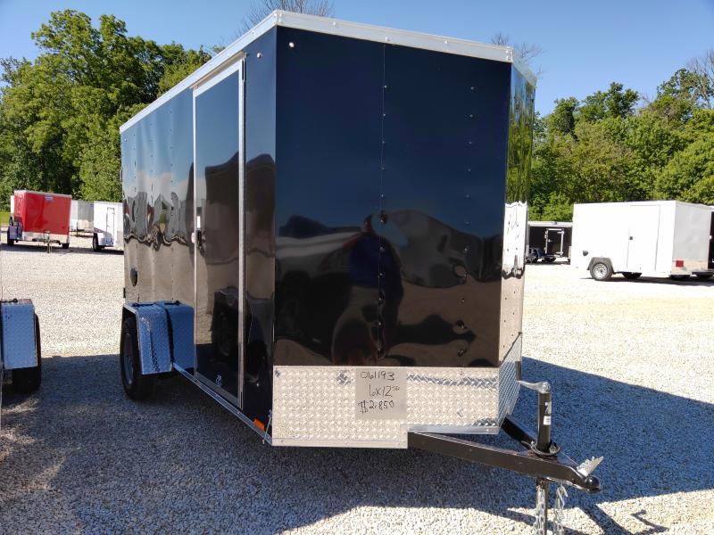2021 Cargo Express 6X12 DRD SA Enclosed Trailer
