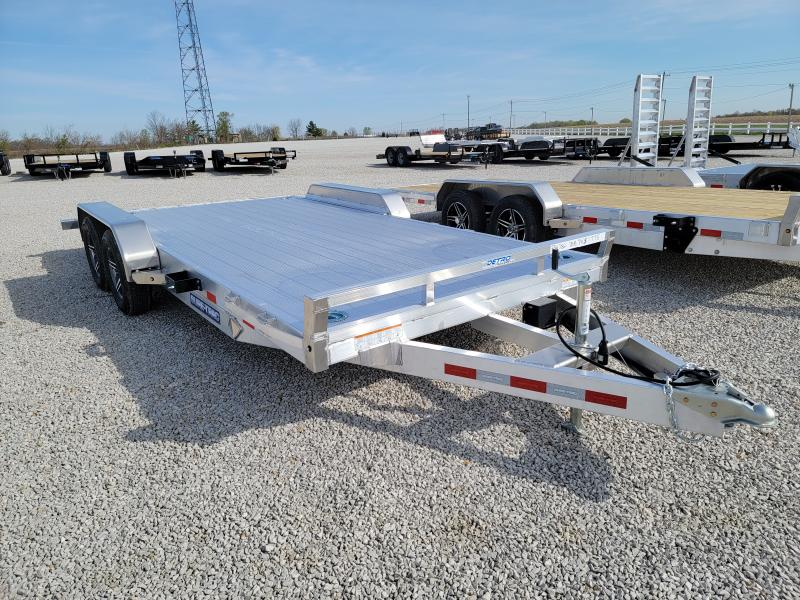 2021 Sure-Trac 7x18 (14+4) C-Channel Aluminum Car Hauler