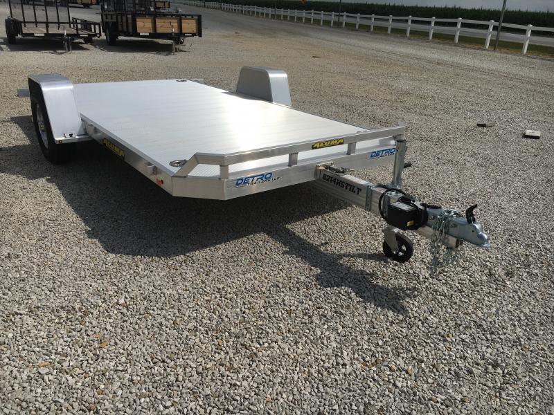 Gently Used 2020 Aluma 82X14 Tilt Deck 5K Trailer