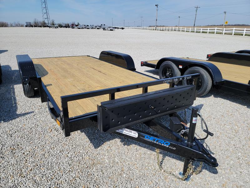 2021 Rhino Trailers 7X16 Open Car Hauler Car / Racing Trailer