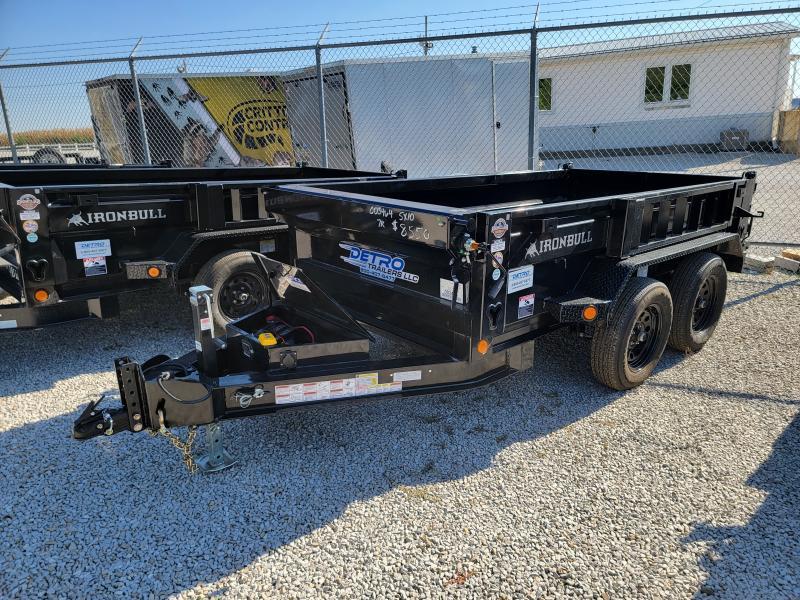 2022 Norstar Ironbull 60x10 7K Single Ram Dump Trailer