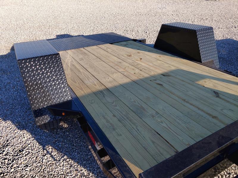2021 Sure-Trac 62x10 Single Axle 6K Tilt Bed Equipment Trailer