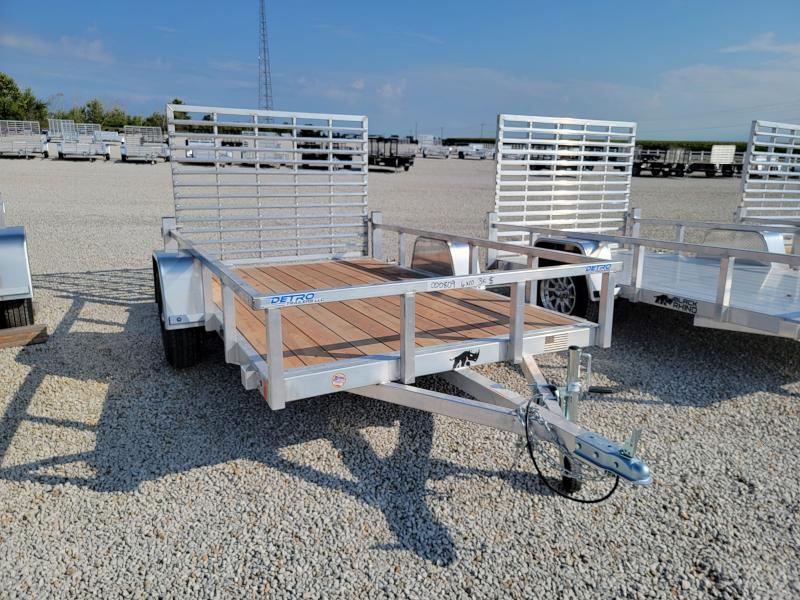 2022 Black Rhino Aluminum 6x10 Wood Deck 3K Utility Trailer