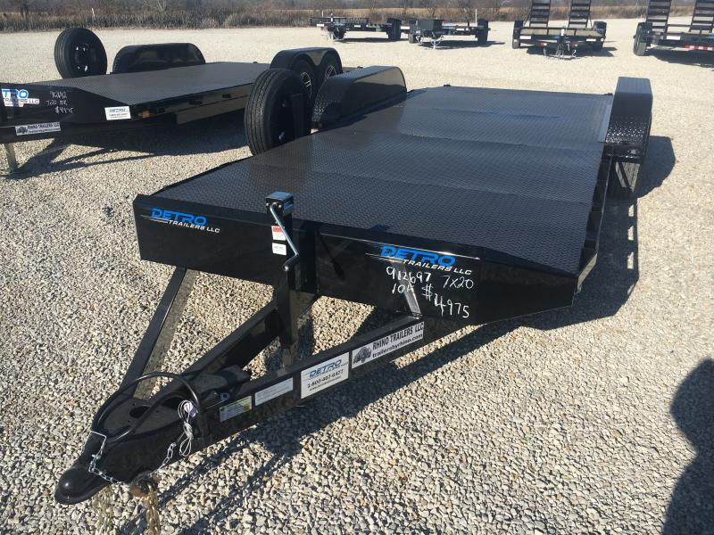 2021 Rhino 7x20 Open 10K Car/Racing Trailer