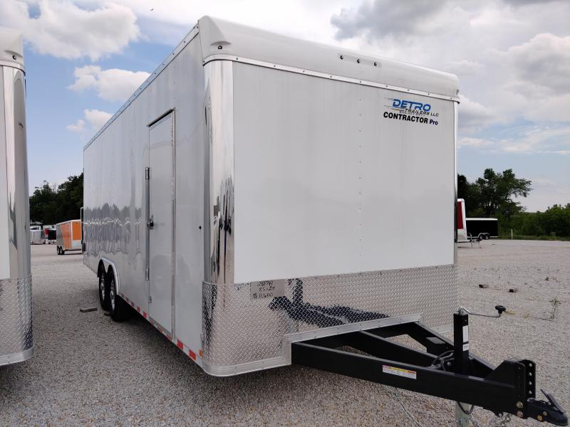 2020 Sure-Trac 8.5x24 Contractor Pro BN Enclosed DRD TA 14K Trailer
