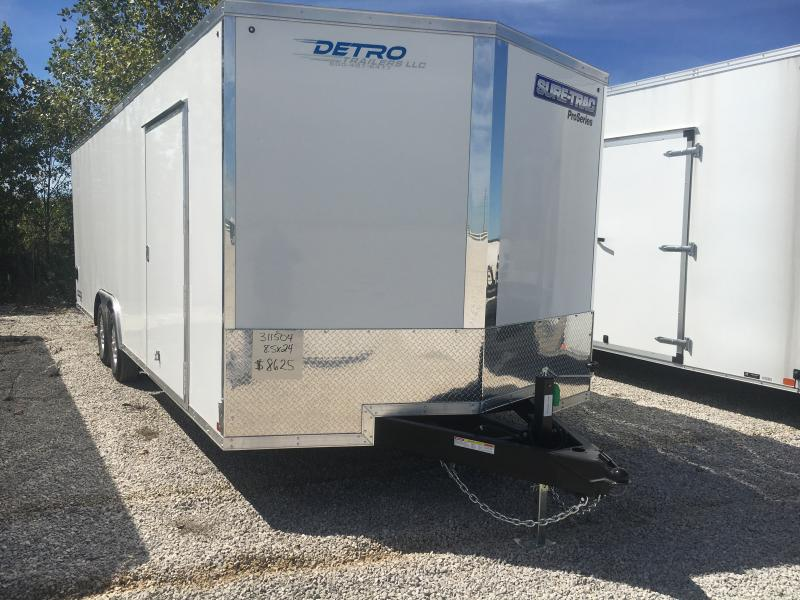 2021 Sure-Trac 8.5x24 Pro Series Enclosed Wedge 10K Car Hauler