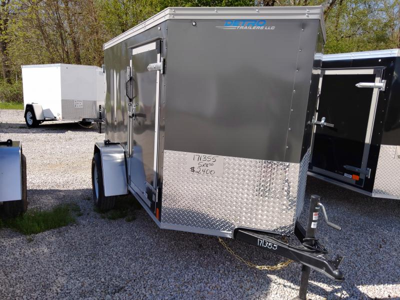 2020 United 5X8 Enclosed Swing Door Trailer