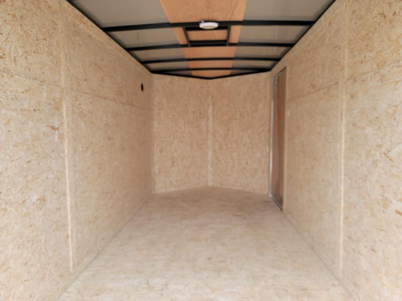 2021 Rhino 6x12 Double Rear Doors Enclosed Cargo Trailer