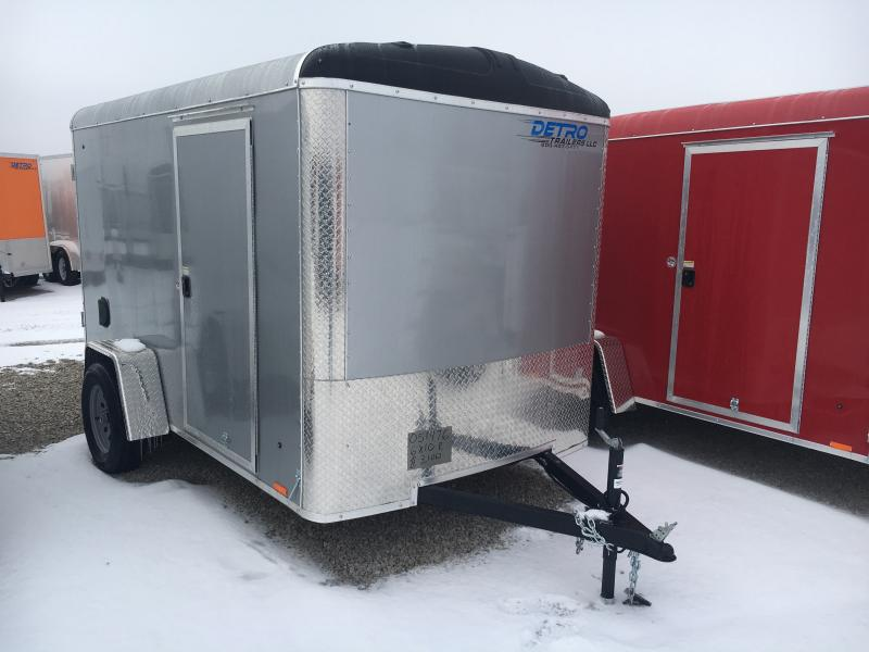 2019 Cargo Express 6x10 Enclosed Ramp Door Trailer