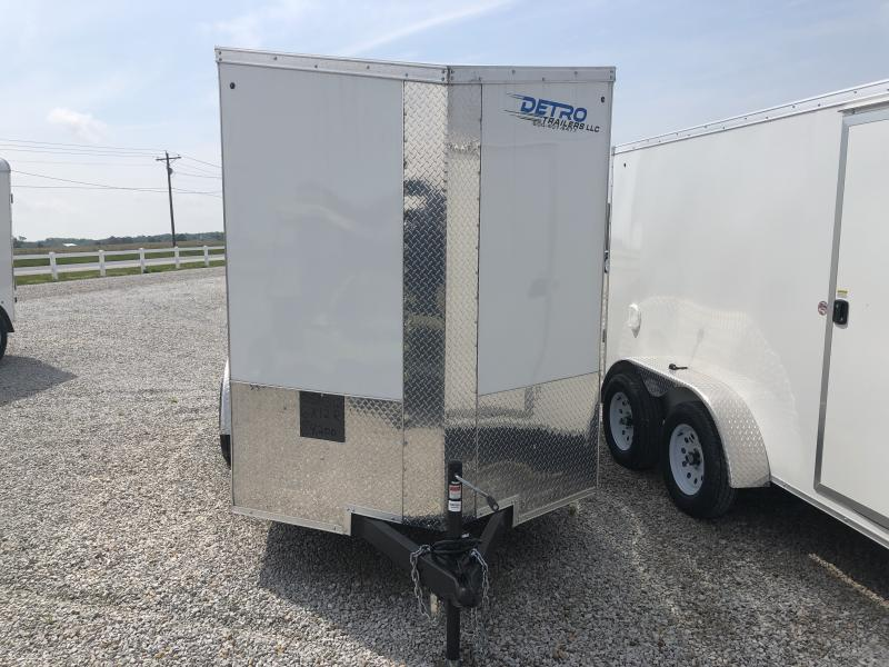 2019 Cargo Express 6X12 Enclosed Ramp Door Trailer