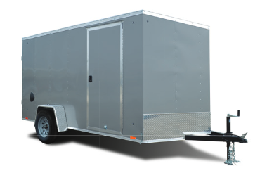 2022 Cargo Express 6x10 Double Rear Door Enclosed Trailer