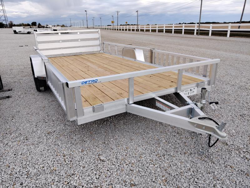 2021 Sure-Trac 7X14 Aluminum ATV Trailer