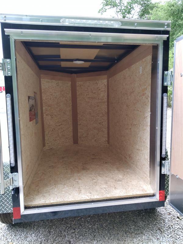 2021 Cargo Express 4X6 Enclosed Swing Door Trailer