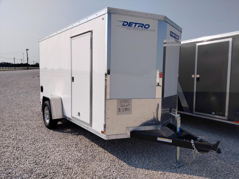 2021 Sure-Trac 6x12 Pro Series Wedge Enclosed Ramp Door Trailer