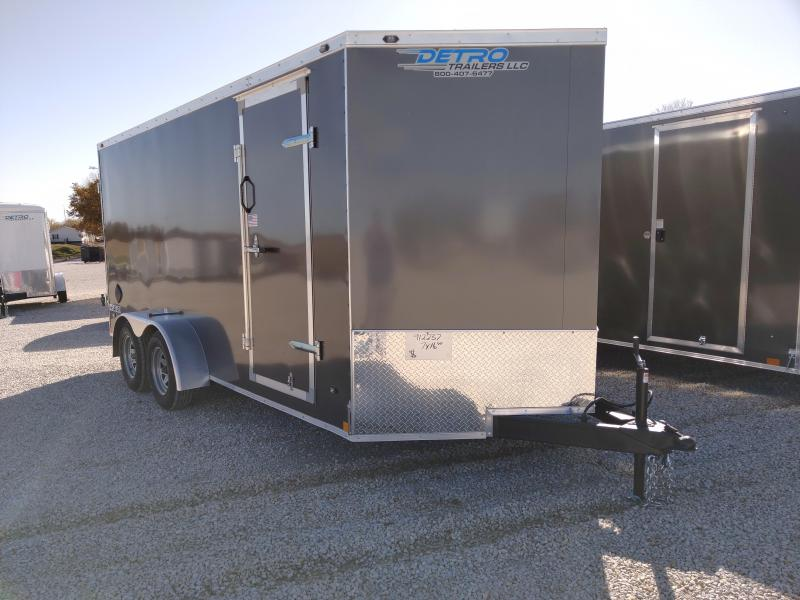 2020 Rhino Trailers 7X16 SAFARI Enclosed DRD TA Trailer