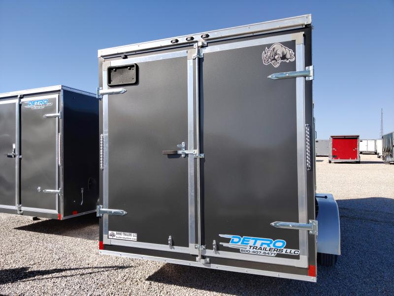 2020 Rhino Safari 7x16 Enclosed Double Rear Door Trailer