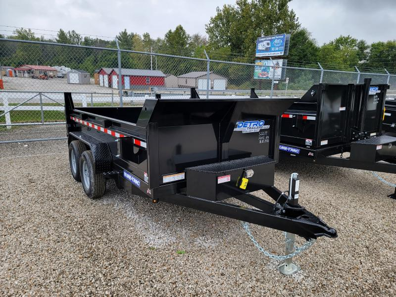 2022 Sure-Trac 6x12 SD 10K Low Profile Single Ram Dump Trailer