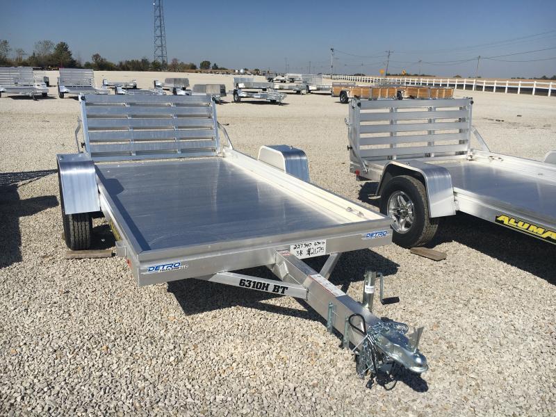 2021 Aluma 63x10 H BT Utility Trailer