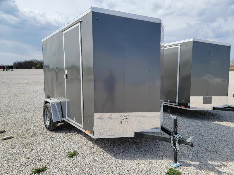 2022 Cargo Express 6X10 Rear Ramp Door Enclosed Cargo Trailer