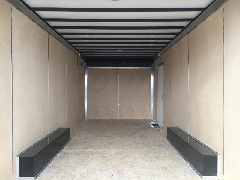 2021 Sure-Trac 8.5x22 Contractor Pro Enclosed 14K Ramp Door Trailer