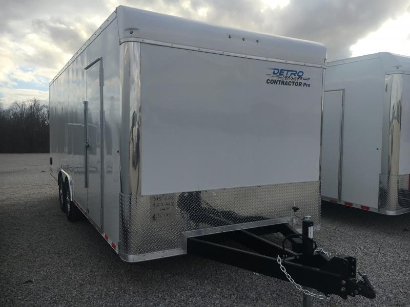 PENDING SALE - 2021 Sure-Trac 8.5x22 Contractor Pro Enclosed 14K Ramp Door Trailer