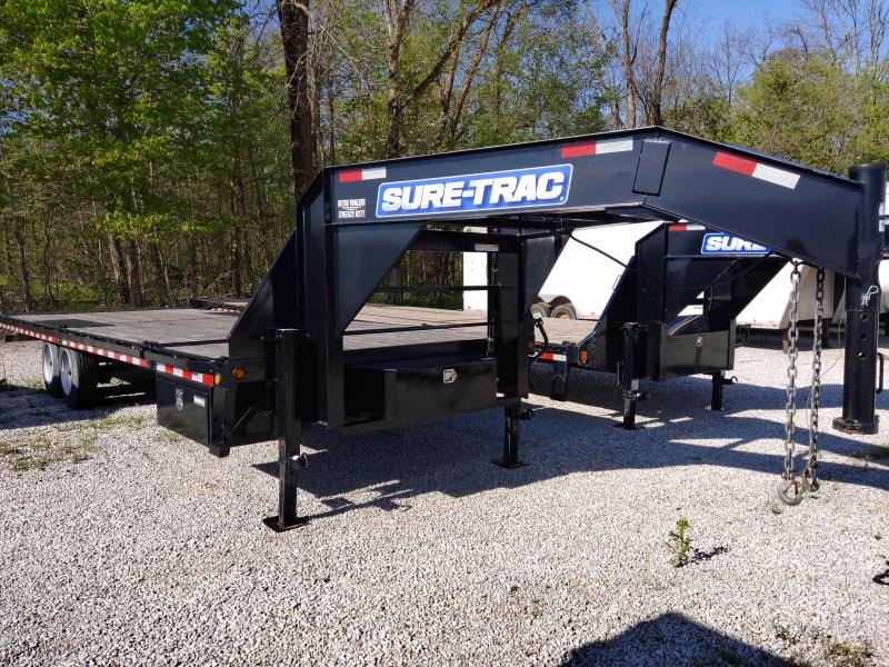 2014 Sure-Trac 102X22+4 POWER TILT Equipment Trailer