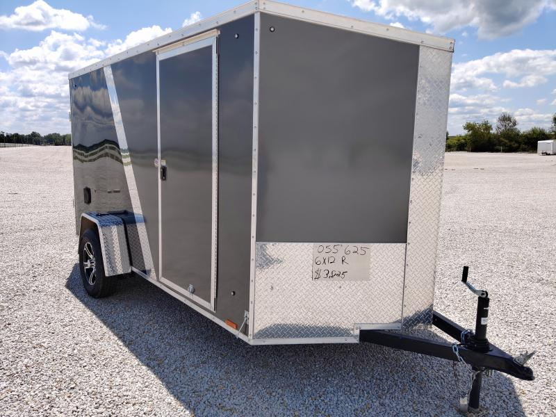 2020 Cargo Express 6X12 Enclosed Ramp Door Trailer