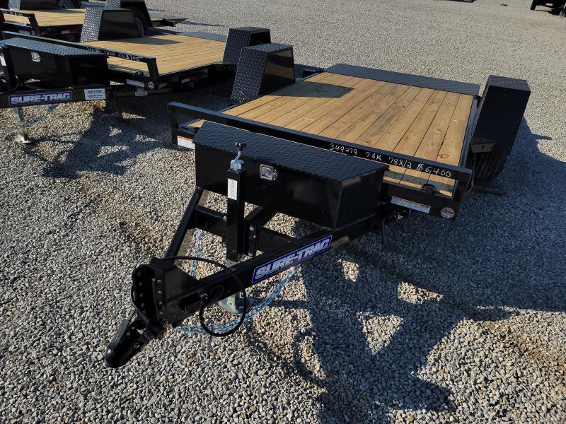 2022 Sure-Trac 78x12 7.8K Single Axle Tilt Bed Equipment