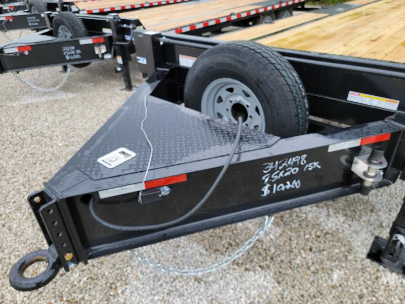 2021 Sure-Trac 8.5X20 15K Deckover Equipment Trailer