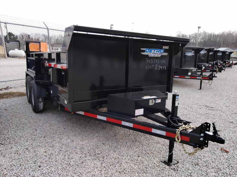 2021 Low Profile 82x14 Twin Cylinder 14K Dump Trailer