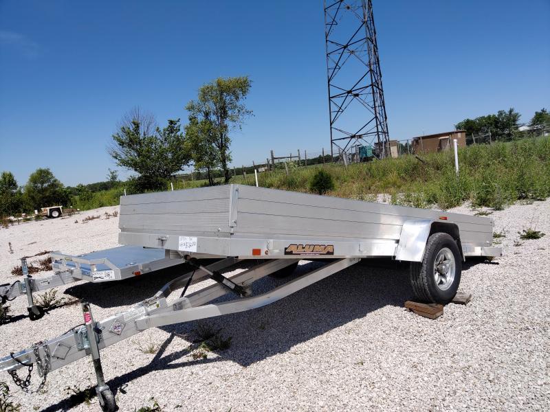 2017 Aluma 68X12 Aluminum Tilt Bed 3K Utility Trailer