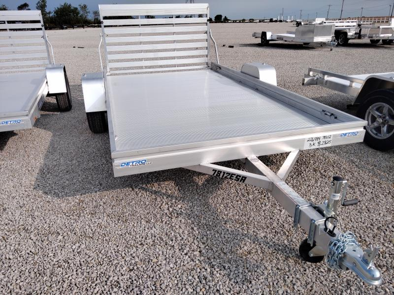 2021 Aluma 781X2 ES-A Utility Trailer