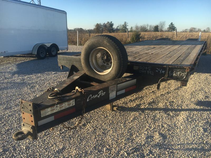 2007 CornPro 20+5 Equipment 24K Trailer