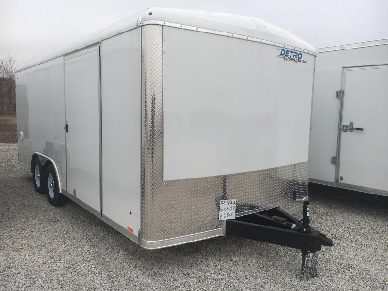 2019 Cargo Express 8.5x18 7K Car/Racing Trailer