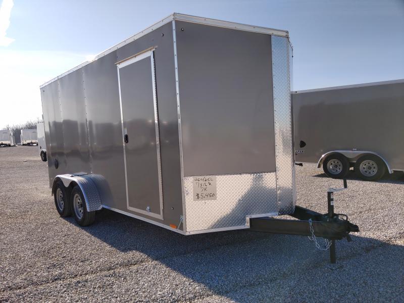 2021 Cargo Express 7x16 Ramp Door Enclosed Trailer