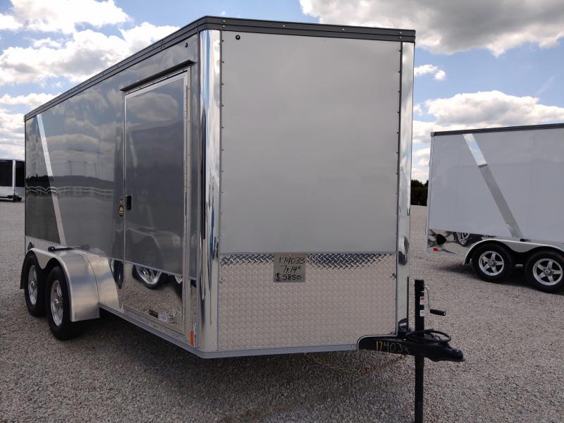 2021 United Trailers 7X14 Motorcycle Trailer